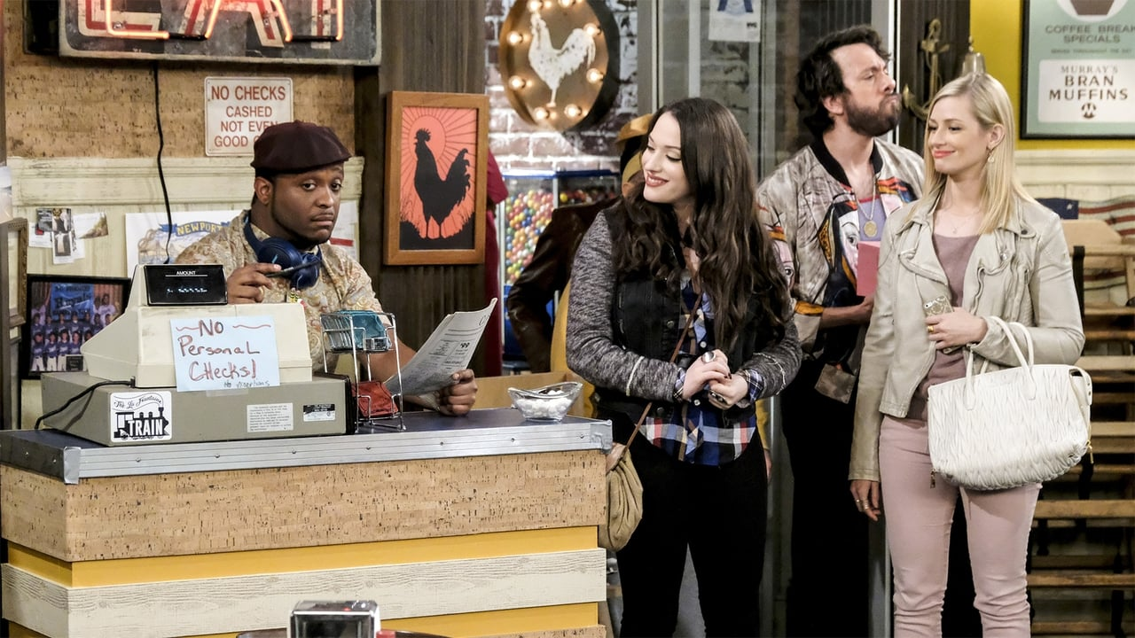 2 Broke Girls Episode: And the Dad Day Afternoon