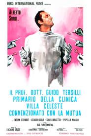 Streaming sources for Il Prof Dott Guido Tersilli primario della Clinica Villa Celeste convenzionata con le mutue