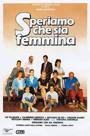 Streaming sources for Speriamo che sia femmina