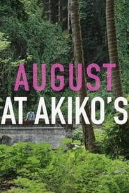 August at Akikos Poster