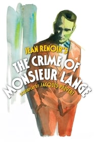 Streaming sources for The Crime of Monsieur Lange