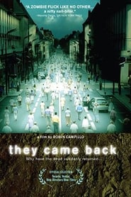 Streaming sources for They Came Back