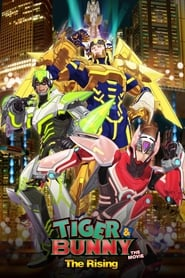 Streaming sources for Tiger  Bunny The Rising
