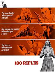 100 Rifles Poster