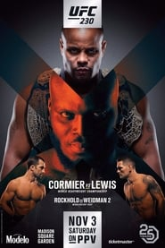 Streaming sources for UFC 230 Cormier vs Lewis