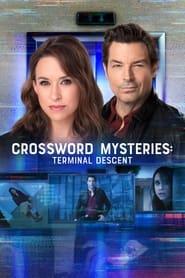Crossword Mysteries Terminal Descent Poster