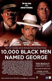 10000 Black Men Named George Poster