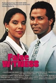 False Witness Poster