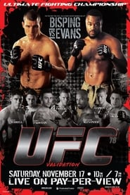 Streaming sources for UFC 78 Validation