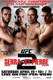 Streaming sources for UFC 83 Serra vs St Pierre 2