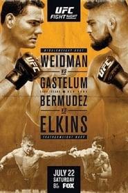 Streaming sources for UFC on Fox Weidman vs Gastelum