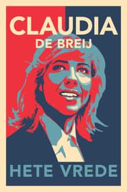 Claudia de Breij Hete Vrede Poster