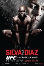 UFC 183 Silva vs Diaz Poster