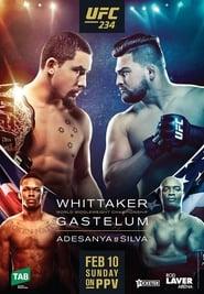 UFC 234 Adesanya vs Silva Poster