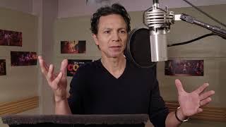 Benjamin Bratts Voice Recording for Pixars Coco