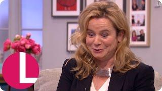 Emily Watson Couldnt Believe How Racy Her New TV Series Apple Tree Yard Was Lorraine