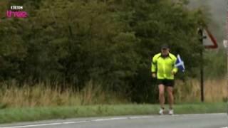 Rain Rain Rain  Eddie Izzard Marathon Man  Series 1 Episode 2 Preview  BBC Three