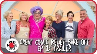 Ep 1 Trailer  The Great Comic Relief Bake Off 2015