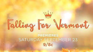 Falling for Vermont Starring Julie Gonzalo and Benjamin Ayres  Hallmark Channel