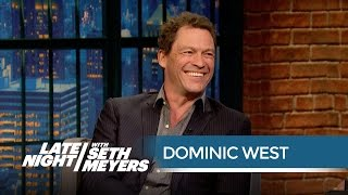 Dominic West Remembers Being in Spiceworld Late Night with Seth Meyers