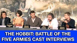 THE HOBBIT 3 The Battle of the Five Armies Cast Interviews