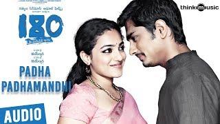 180 Songs  Telugu  Padha Padhamandh Song  Siddharth Priya Anand Nithya Menen  Sharreth