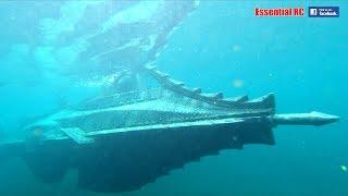 NAUTILUS RC Submarine Captain NEMO Jules Vernes 20000 LEAGUES UNDER THE SEA