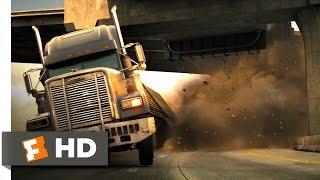 Live Free or Die Hard 45 Movie CLIP Freeway Fighter 2007 HD