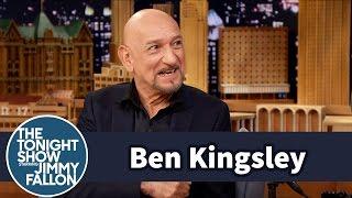 Sir Ben Kingsley Destroys an Audience Members Phone