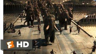 10000 BC 810 Movie CLIP  Mammoth Stampede 2008 HD