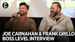 BOSS LEVEL Frank Grillo  Joe Carnahan Share Crazy Stories on How Film Was Made