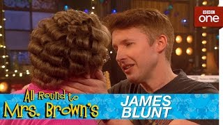 James Blunt and Mammys kiss  All Round to Mrs Browns Episode 1  BBC One