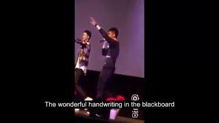 Fancam Fanmeeting Addicted Heroin web series Xu Weizhou and Huang Jingyu Singing