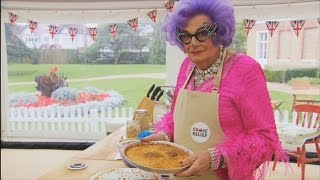 A tough cookie for Dame Edna  The Great Comic Relief Bake Off Series 2 Episode 1 Preview  BBC One