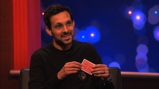 Michael McIntyre plays a card trick on Dynamo  The Michael McIntyre Chat Show Episode 5  BBC One