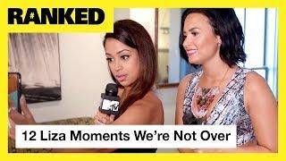 Liza Koshys TOP 12 Moments ft Demi Lovato GEazy Jacob Sartorius More MTV Ranked