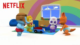 Whats In A Whats It Box  Word Party  Netflix Jr