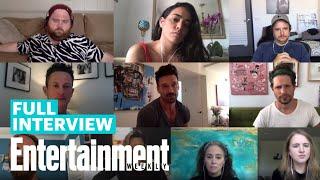 Kingdom Roundtable Frank Grillo Kiele Sanchez Jonathan Tucker More Entertainment Weekly