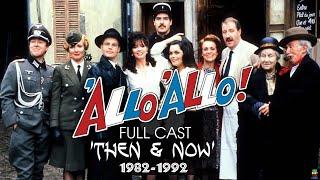 ALLO ALLO THEN  NOW FULL CAST 19821992 CLASSIC BRITISH COMEDY TV SITCOM 2020