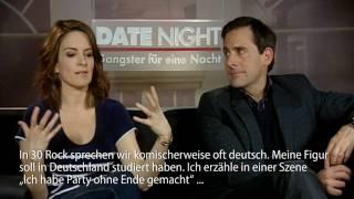 Deutsch ist total uncool findet Tina Fey  Interview zu Date Night