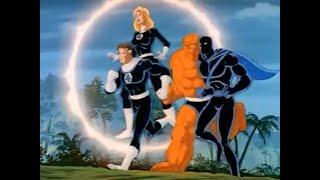 Marvel Fantastic Four 1994 Fantastic Four and Black Panther Team Up