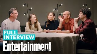 Zombieland Double Tap Roundtable With Emma Stone Woody Harrelson More Entertainment Weekly