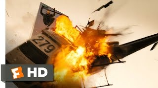 Live Free or Die Hard 15 Movie CLIP Helicopter Meets Car 2007 HD