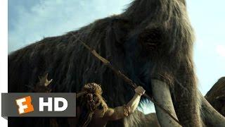 10000 BC 110 Movie CLIP  The Mammoth Hunt 2008 HD