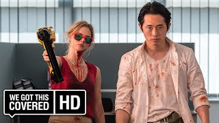 MAYHEM Official Trailer 1 HD Steven Yeun Samara Weaving Steven Brand