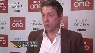 Hugh Grants talk A Very English Scandal  what he found hardest to do  London Live