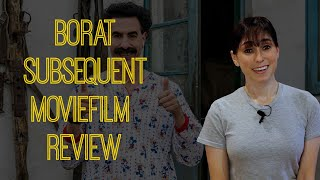Borat Subsequent Moviefilm Review Another Silly and Searing Satire from Sacha Baron Cohen