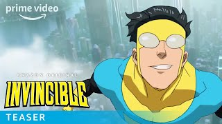 Invincible  Teaser Trailer  Prime Video