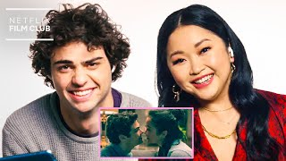 Lana Condor  Noah Centineo React To All The Boys Always and Forever Trailer  Netflix