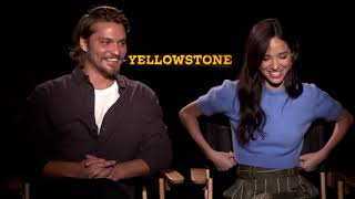 Kelsey Asbille and Luke Grimes Interview Yellowstone